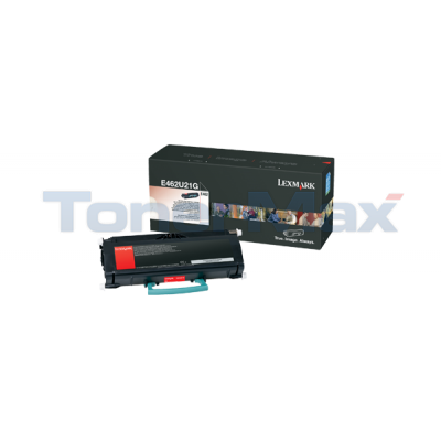 LEXMARK E462 TONER CARTRIDGE 18K